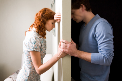Grief Between Couple at Home